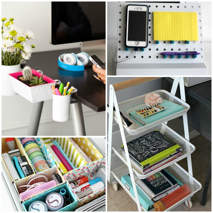 Work Desk Organization Ideas