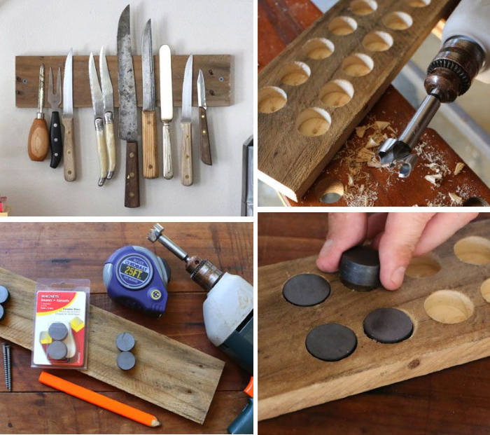 Diy Kitchen Knife Holder: Got Pallets? These 17 DIY Pallet Ideas Are Clever
