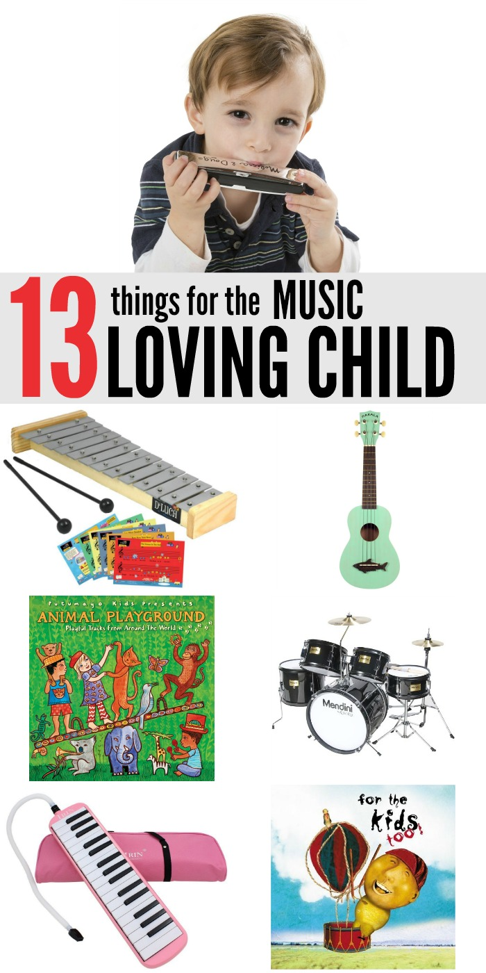 13 things for the music loving child - Christmas Present Ideas For Kids