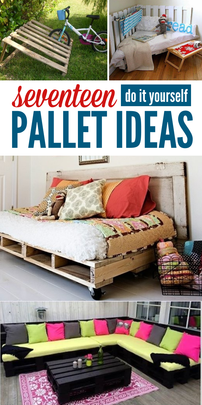 Got pallets these 17 diy pallet ideas are clever for Great pallet ideas