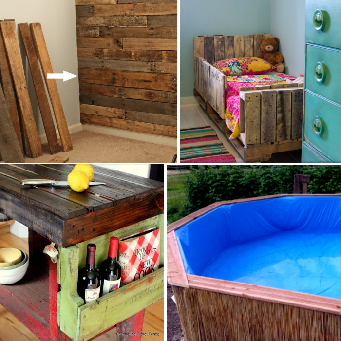 pallet project ideas for DIY