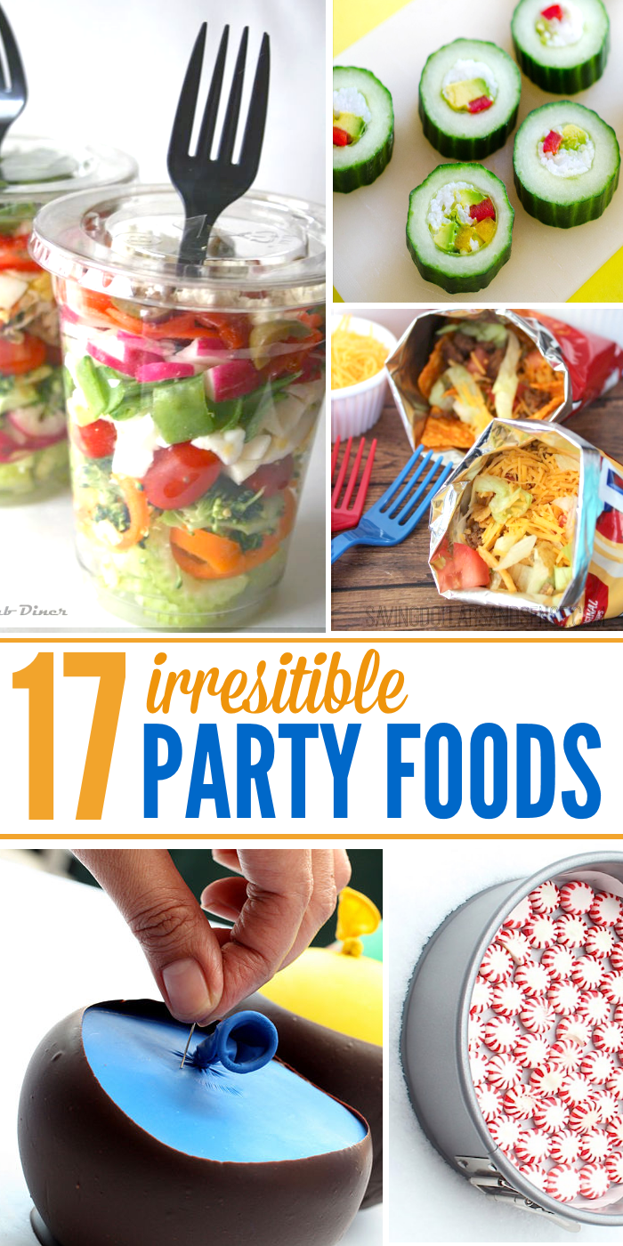 17 Irresistible Party Food Ideas