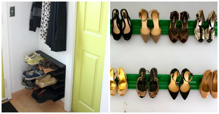 15 Storage Ideas for People With Way Too Many Shoes