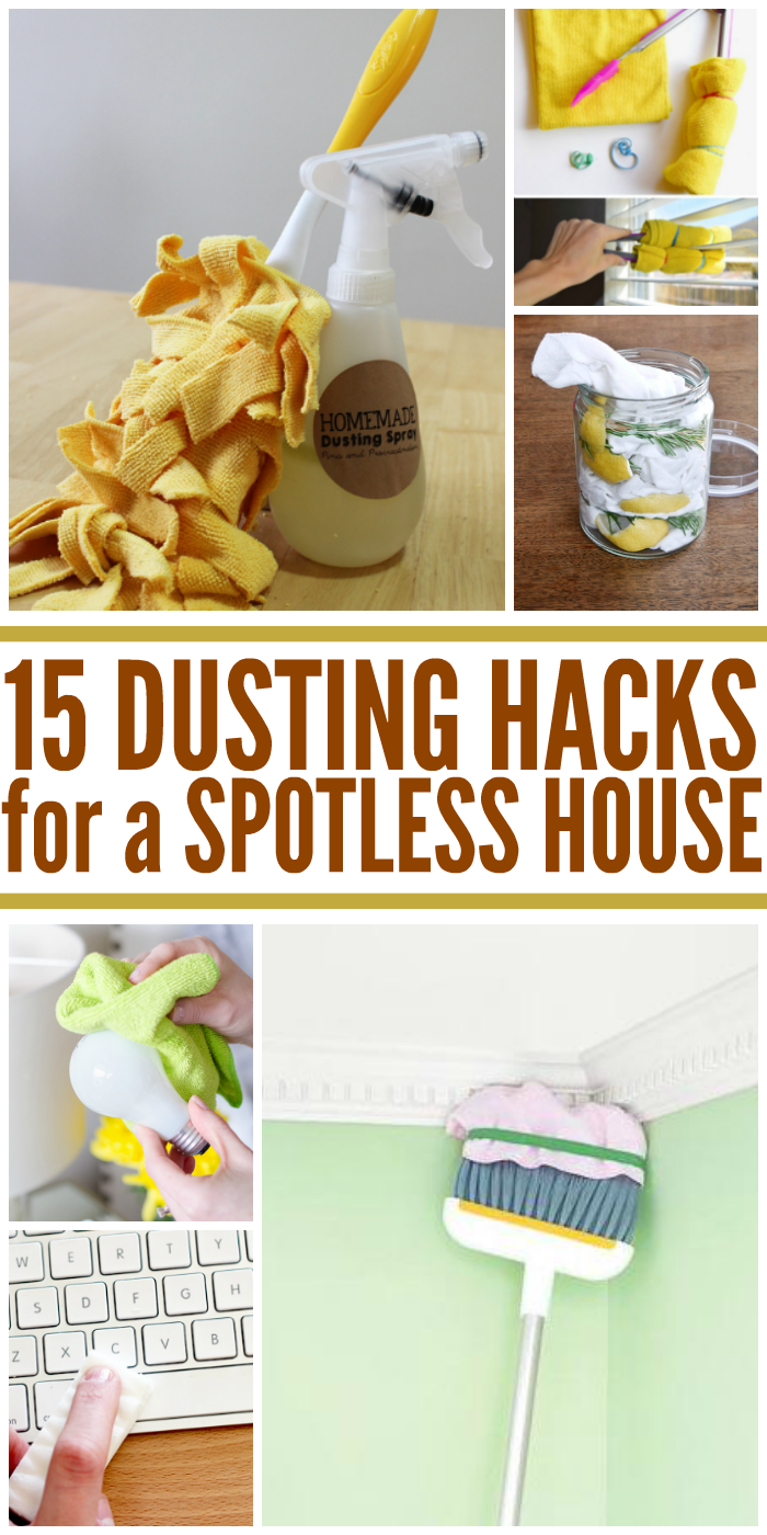 15 Dusting Hacks for a Spotless House