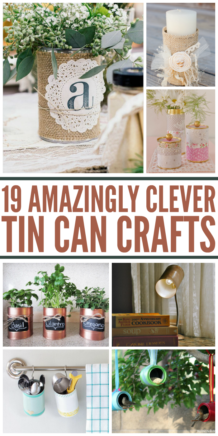 Unbelievable ways to upcycle a tin can