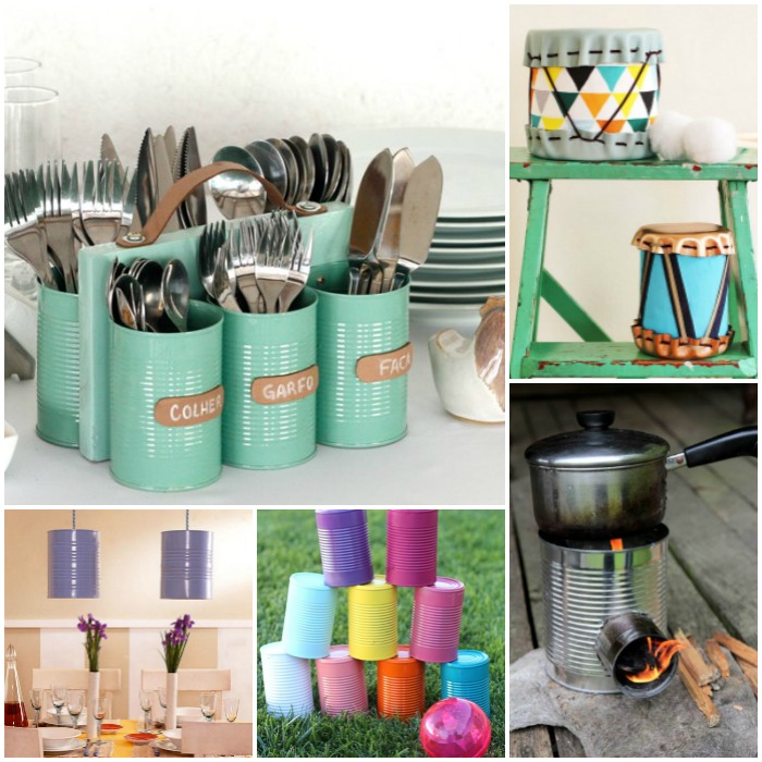 Amazing Tin Can Craft Projects