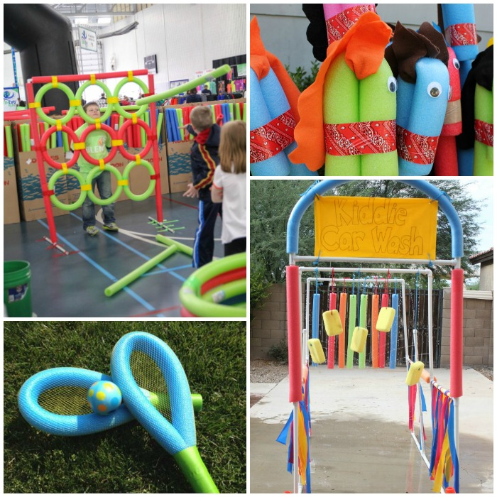 Awesome Things to Make With Pool Noodles