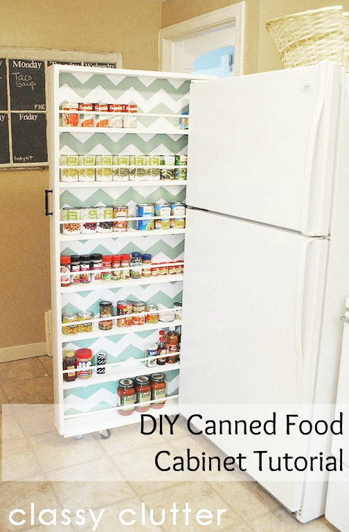 Canned Food Holder