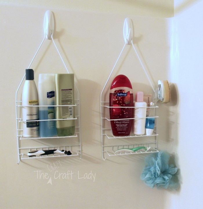 Dual Shower Caddies