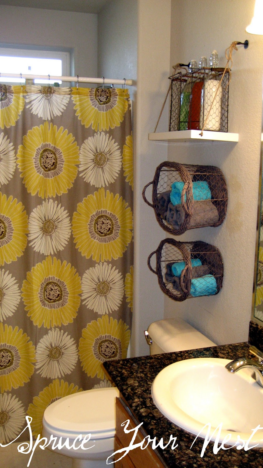above the toilet storage ideas 10