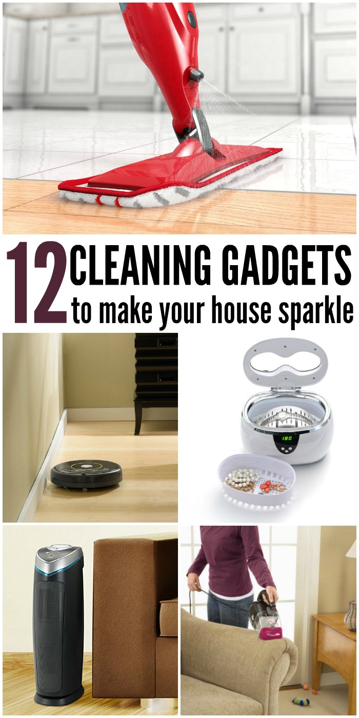 12 Cleaning Gadgets that will make your Whole House Sparkle | www.onecrazyhouse.com