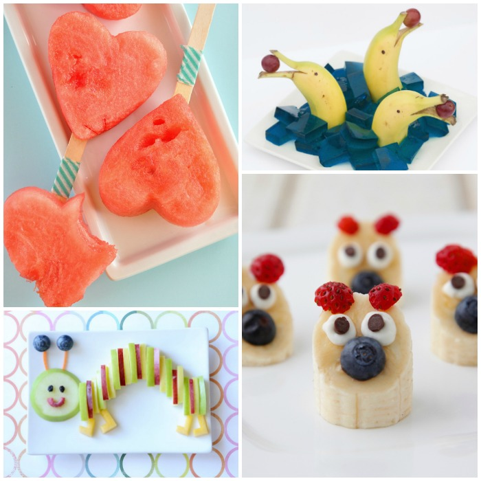 cute ways to serve fruit to kids