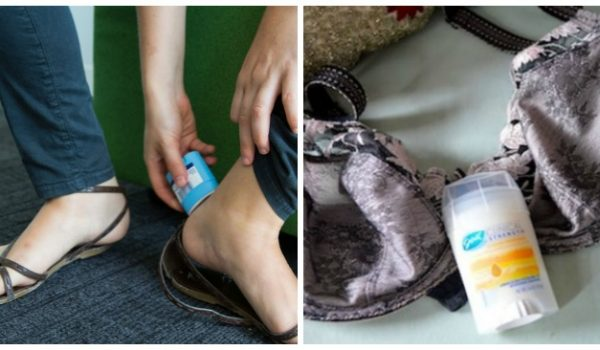 12 Ways to Use Deodorant (Besides on Your Armpits)