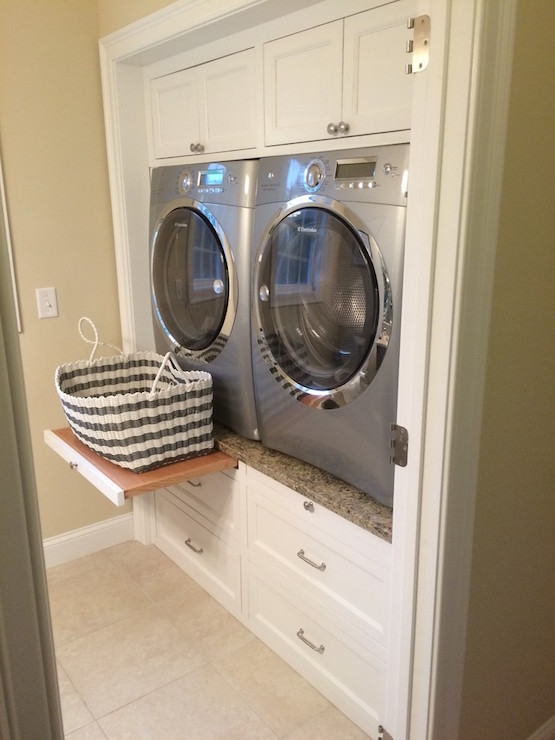 15 laundry closet ideas to save space and get organized for How to add a laundry room to your house
