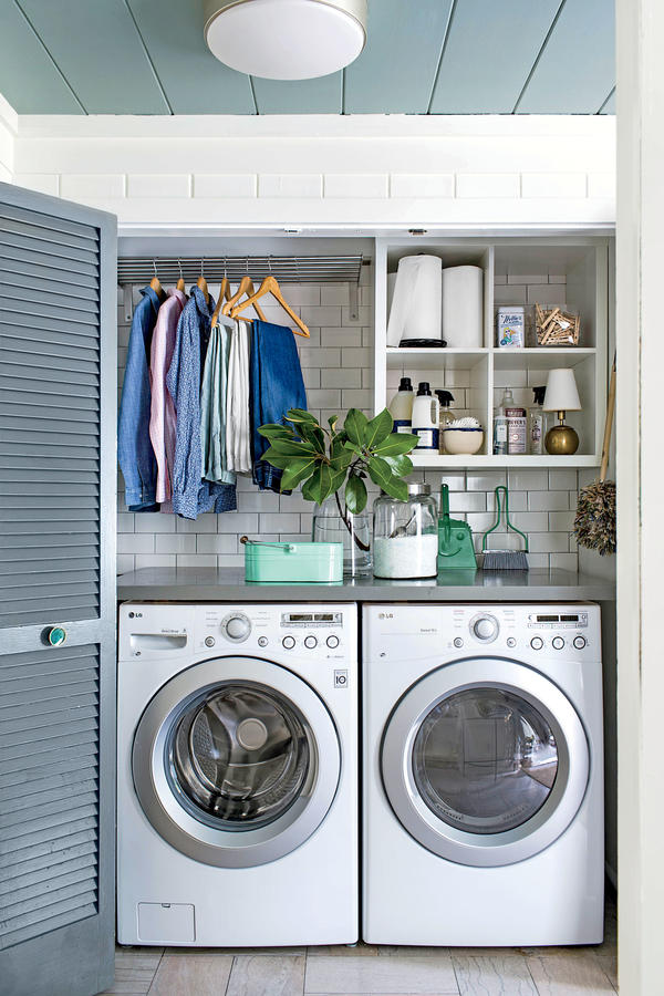 Closet Ideas Part - 45: Laundry Closet Ideas 15
