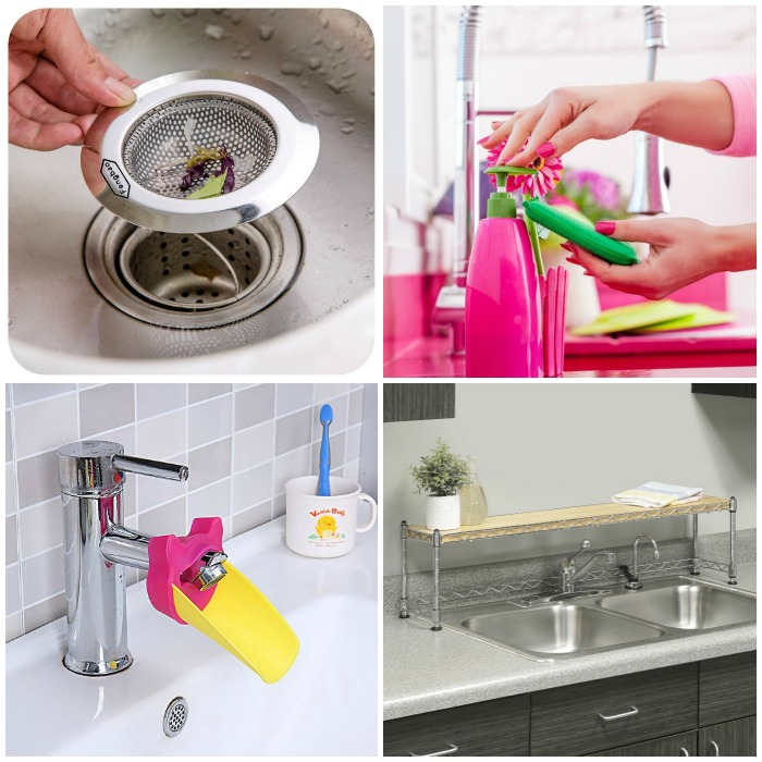 11 Must Have Sink Accessories | www.onecrazyhouse.com