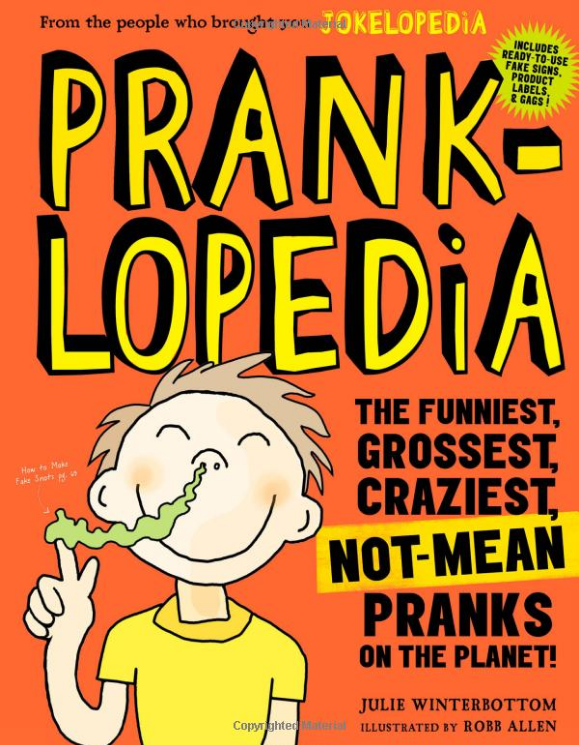 silliest prank book for kids