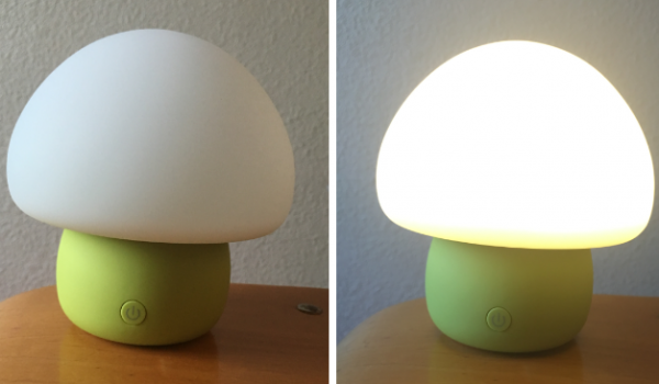 smart lamp mushroom review