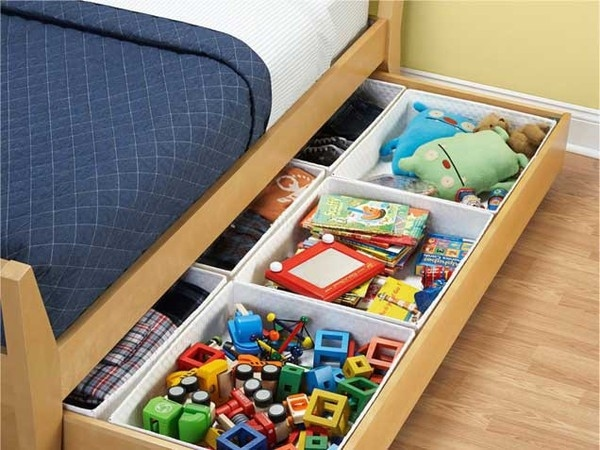 23 fun and clever ways to organize toys another cool and fun way to store up books is to put them in a diy book sling such as this one at solutioingenieria Choice Image