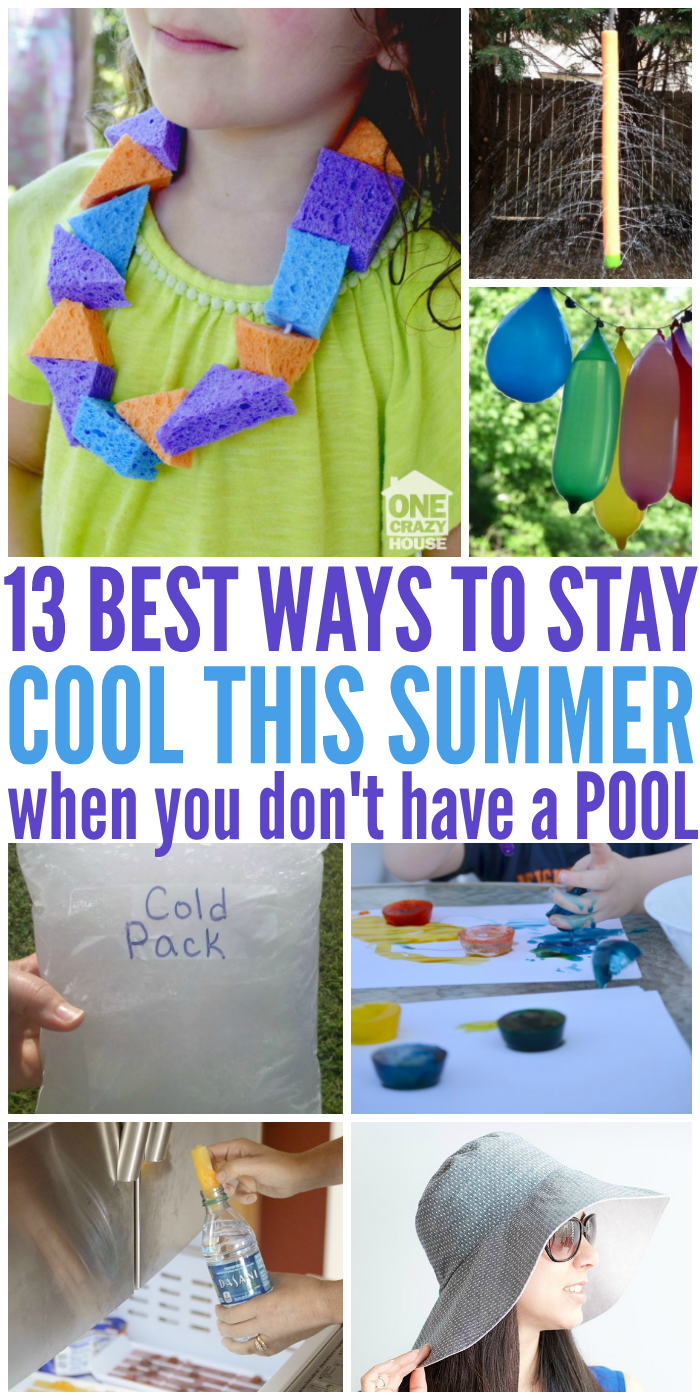 13 Best Ways to Stay Cool When You Don't Have a Pool