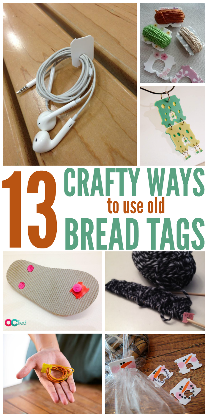 13 Crafty Ways to Use Old Bread Tags