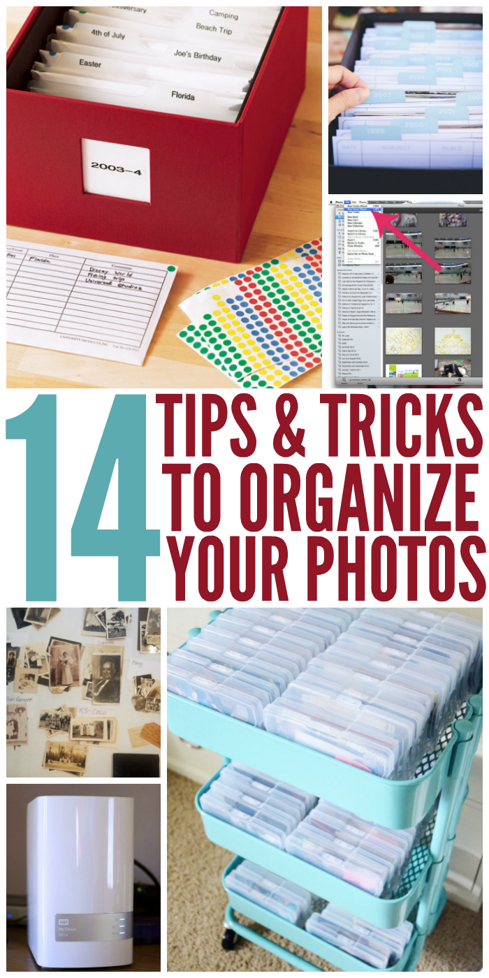 14 Tips and Tricks to Organize Your Photos