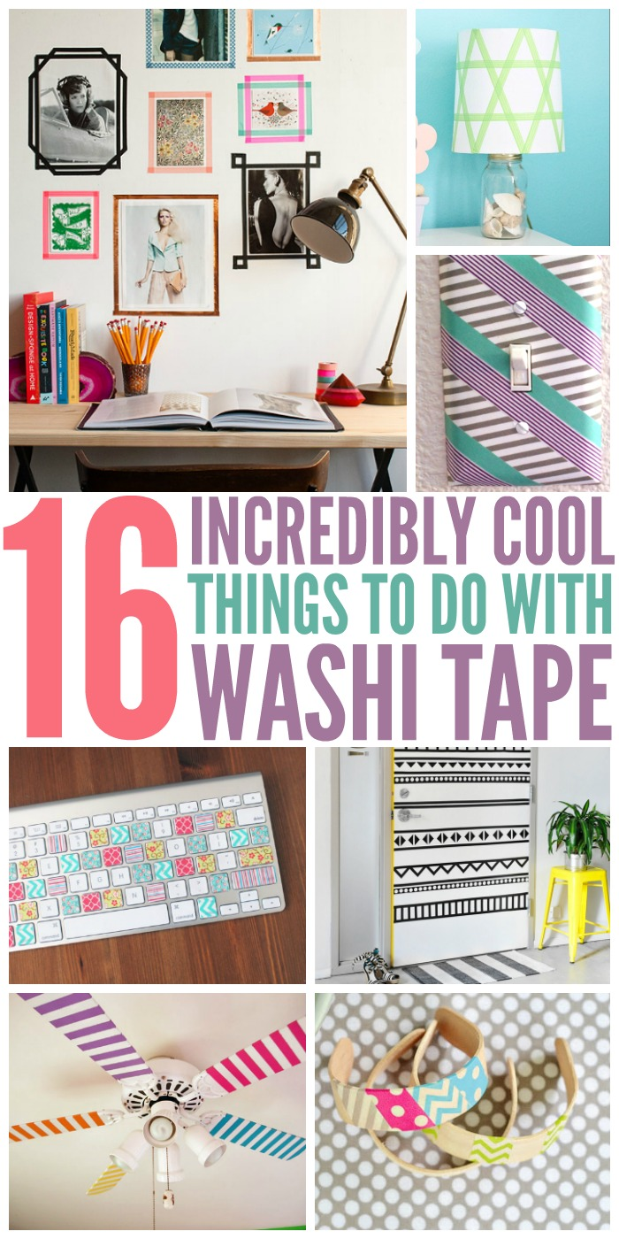What To Do With Washi Tape incredibly cool things to do with washi tape