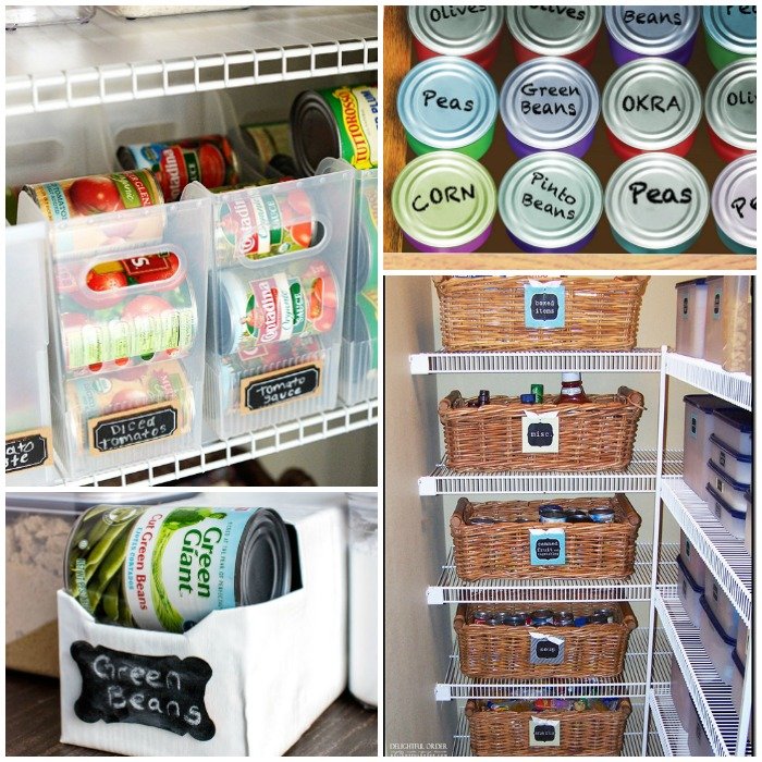 Inexpensive Kitchen Storage Ideas: 17 Canned Food Storage Ideas To Organize Your Pantry