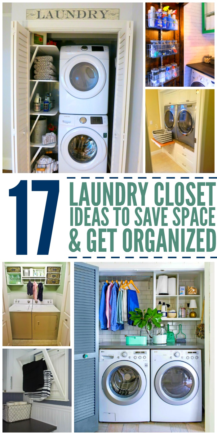 Space Saving Ideas For Laundry Room