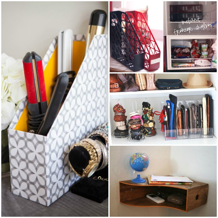 How to Organize with Magazine Holders