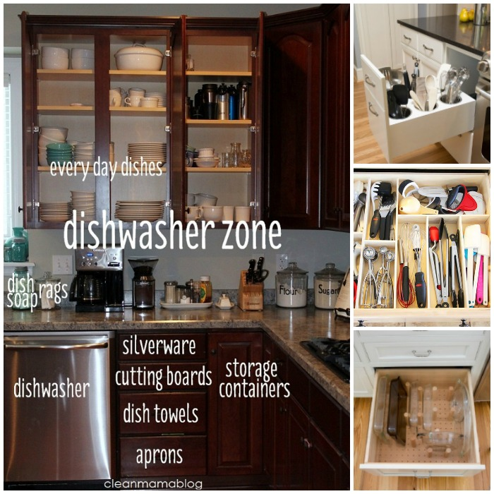 Organize Kitchen Drawers and Cabinets