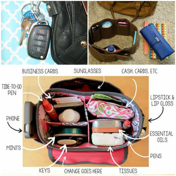 Purse Organization Ideas