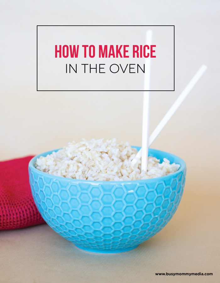 Rice in Oven