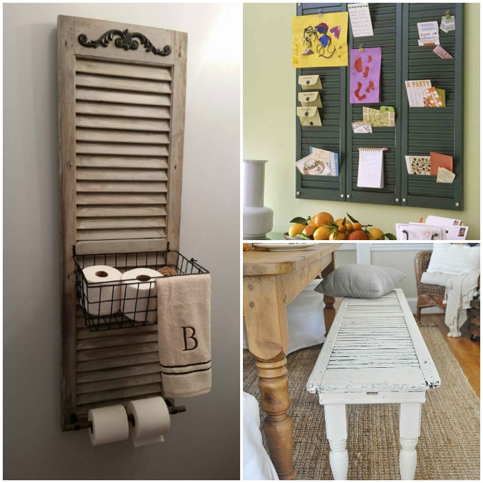 17 Best Ideas About Shutter Blinds On Pinterest: 17 Ways You've Never Thought To Reuse Old Shutters