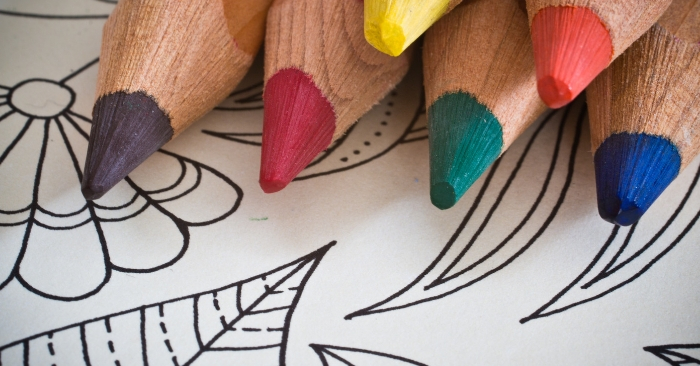 adult coloring tips