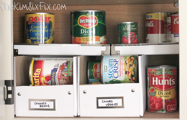 If You Have A Modest Amount Of Canned Food And Limited Cabinet E An Over The Door Organizer May Be Ideal For Can Still Fit Quite Bit In