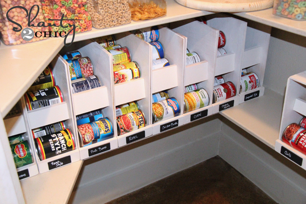This Wall Mounted Canned Food Organizer Will Make A Great Addition To Your Pantry