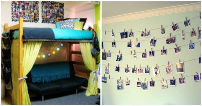 Dorm Room Wall Decor 23 dorm room decor and organization ideas