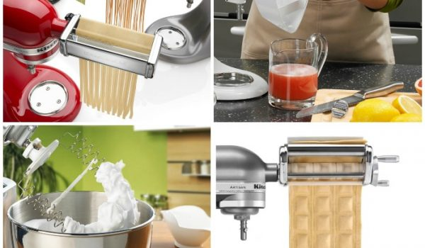 20 Amazing Kitchen Aid Mixer Attachments | www.onecrazyhouse.com