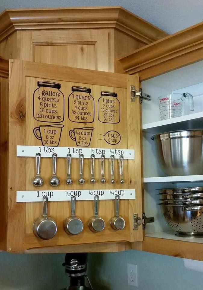 Kitchen Cabinet Organizer Idea