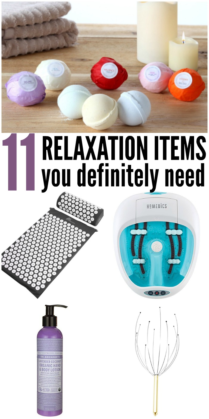 Here are some must have stress relief gifts, perfect for a little relaxation.