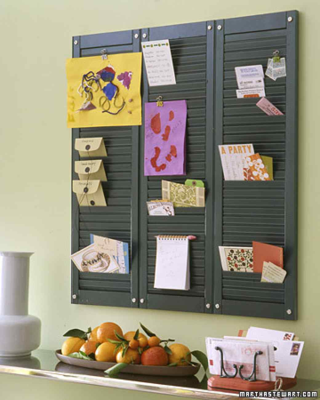 shutter organization 1 & 17 Ways Youu0027ve Never Thought to Reuse Old Shutters