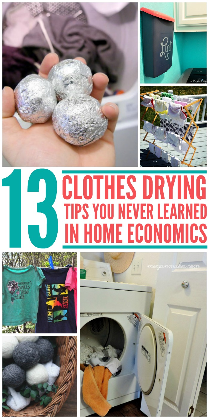 13 Clothes Drying Tips You Never Learned in Home Economics