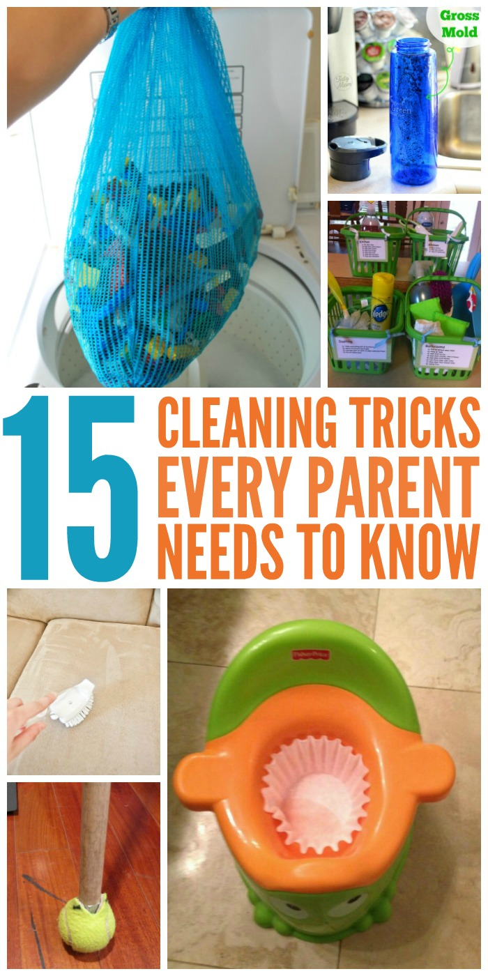 15 Housecleaning Tips Every Parent Needs to Know