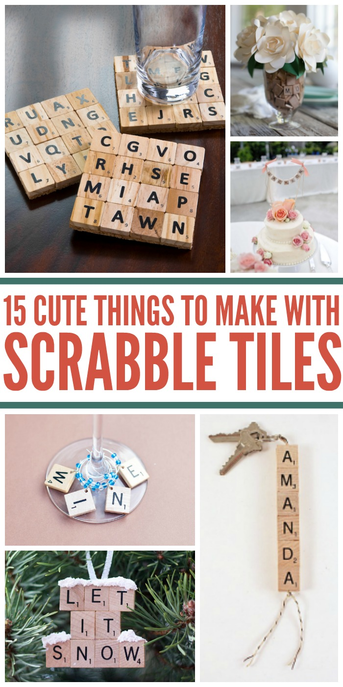 15 Awesome Uses For Scrabble Tiles Besides Playing The Game