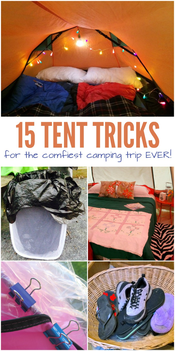 15 Tent Hacks for the Comfiest Camping Trip Ever
