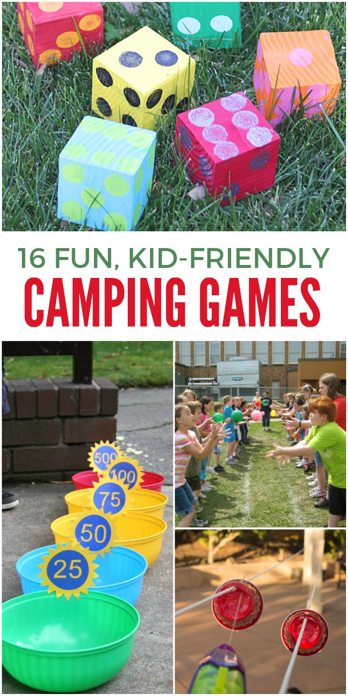 16 Camping Games to keep the kids entertained during your next campout - 16 Of The Funnest Camping Games For Kids