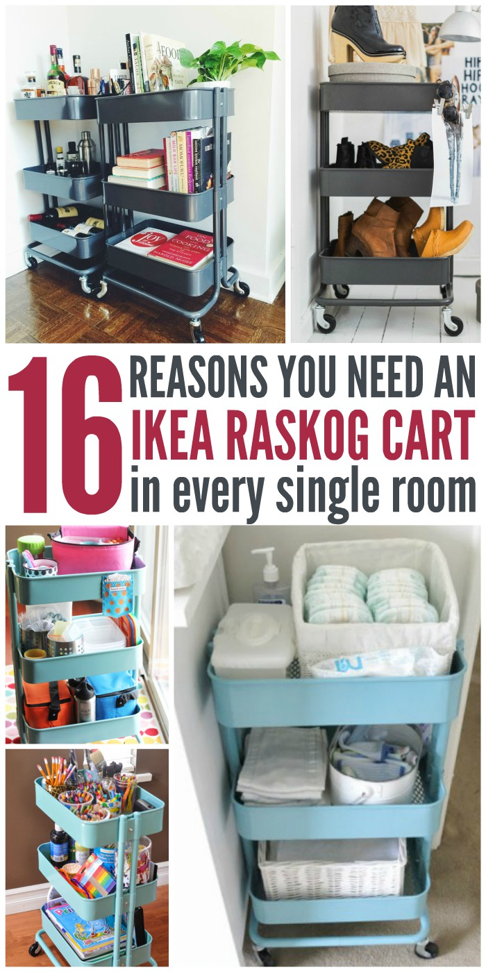 16 Reasons You Totally Need an IKEA Raskog Cart