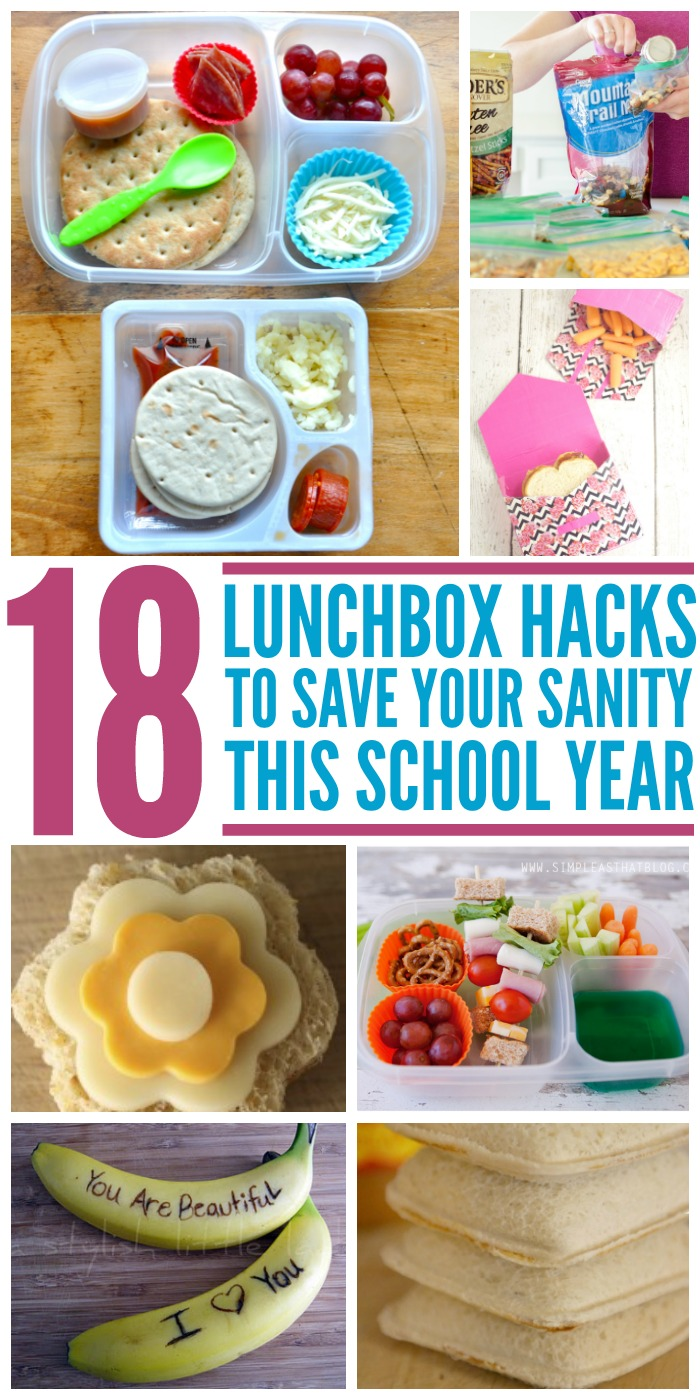 18 Lunchbox Hacks to Save Your Sanity This Year
