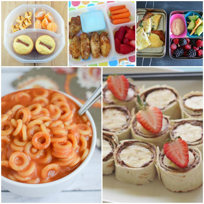 Easy and Yummy School Lunch Ideas